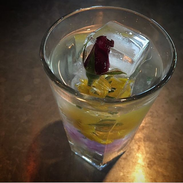 Every rose has its thorn,  this one's also got vermouth. #petalparty