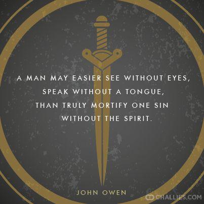 The Mortification of Sin | Proclamation Presbyterian Church