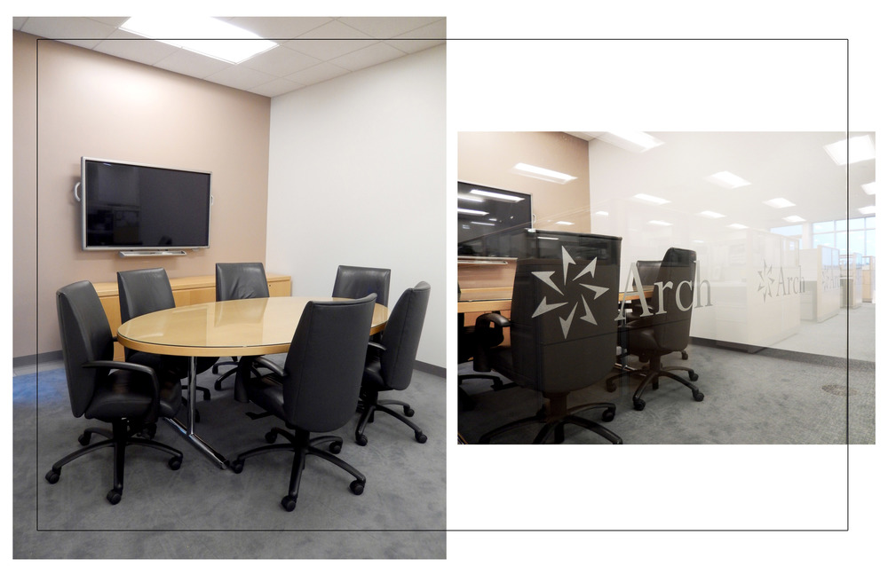Small conference room. Photographs