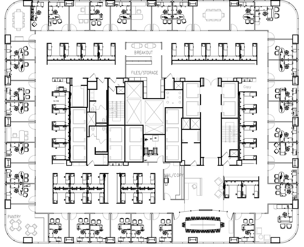 San Francisco office floorplan