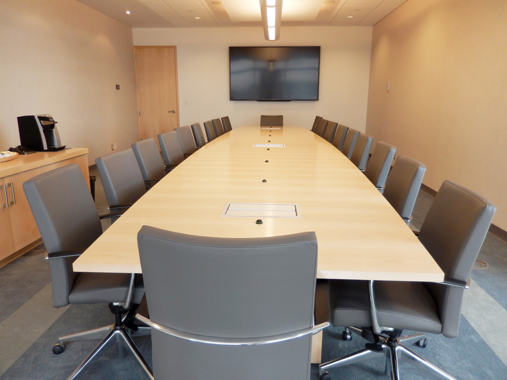Board Room view. Photograph