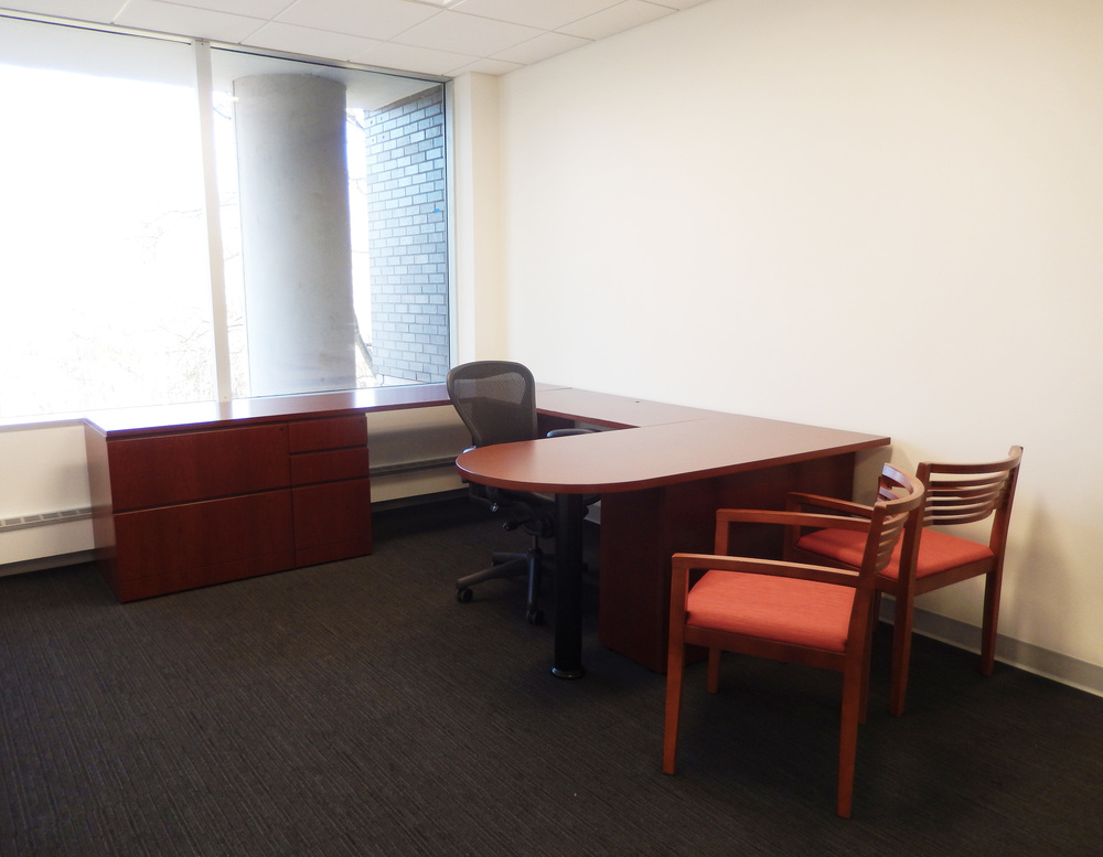 Private office furniture. Photograph