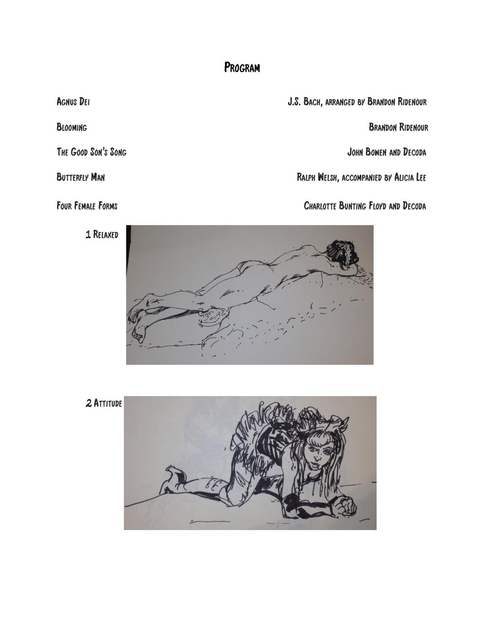 Concert Program, page 2