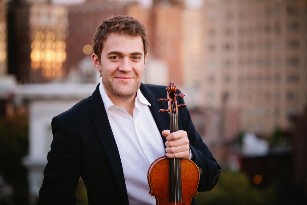 Owen Dalby, violin