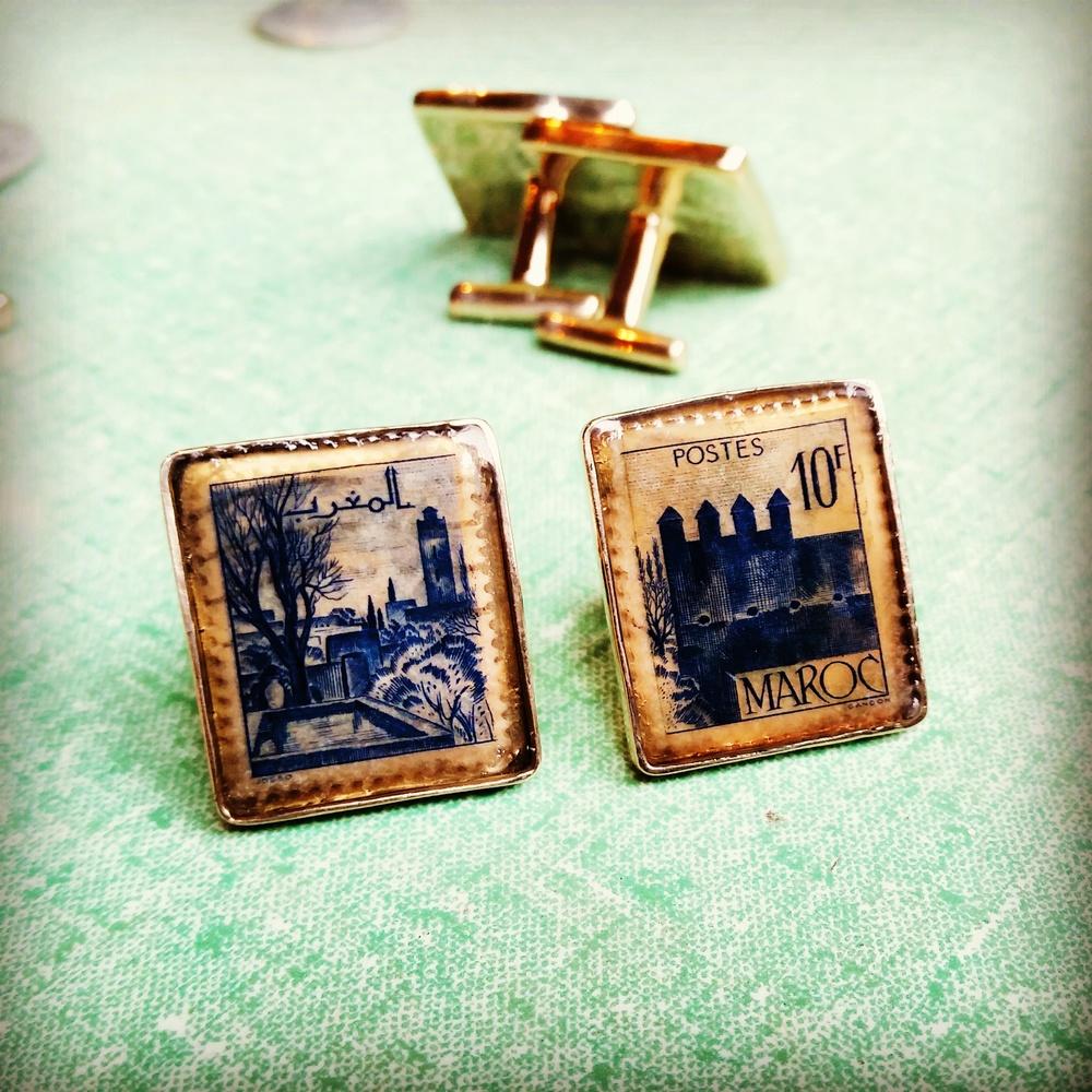 Stamp Cufflinks Moroco.jpg