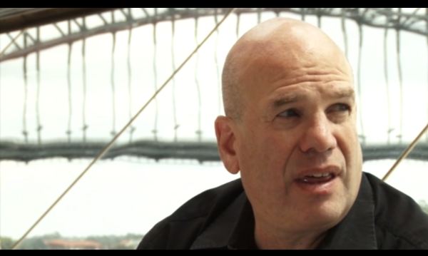 Writer David Simon in Australia