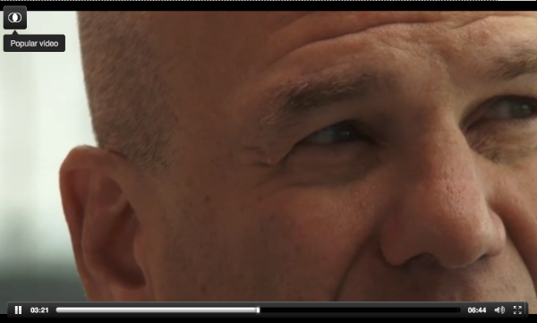 Detail Shot of The Top Half of David Simon's Head