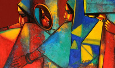 Oil on Canvas Image by Paresh Maity from  http://indianartnews.com