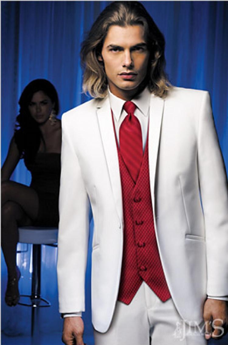 Tommy\'s Tuxedos® White Tuxedos
