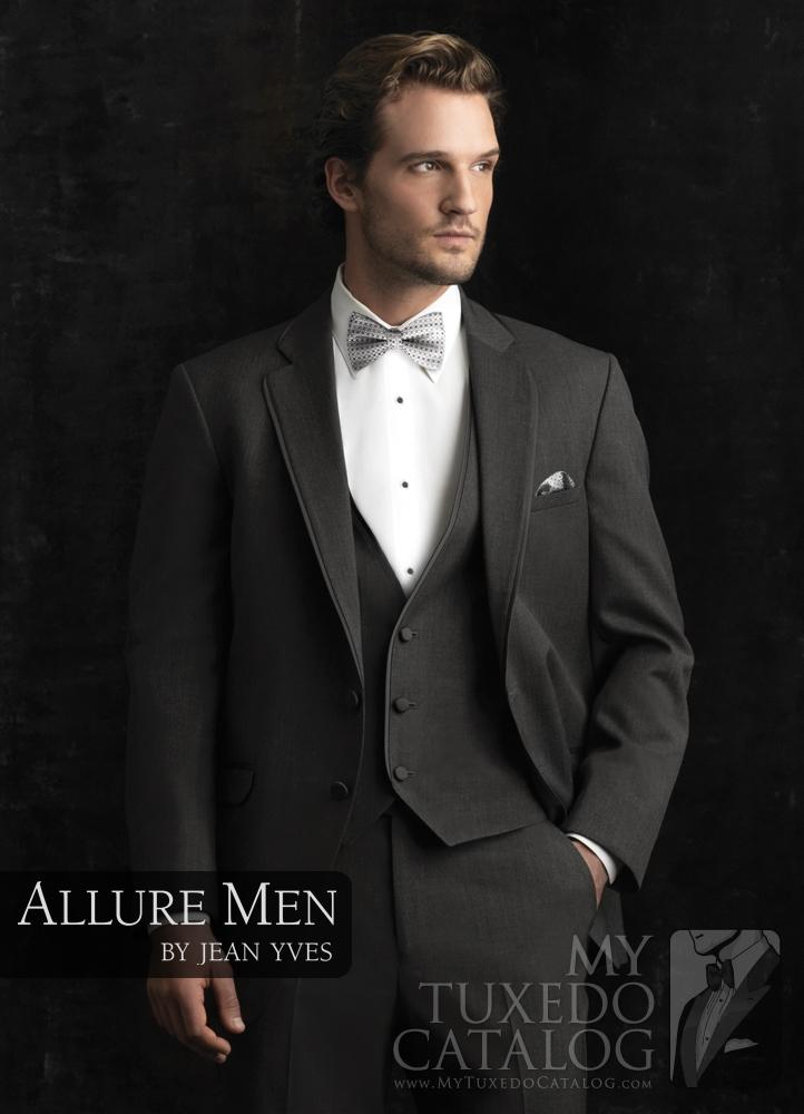 Steel Grey Allure Tuxedo by Allure Men#10257 — Tommy\'s Tuxedos®
