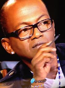 Randy Jackson wearing Figaru bracelet