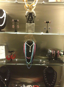 Hotel gansevoort showcase of Figaru jewelry