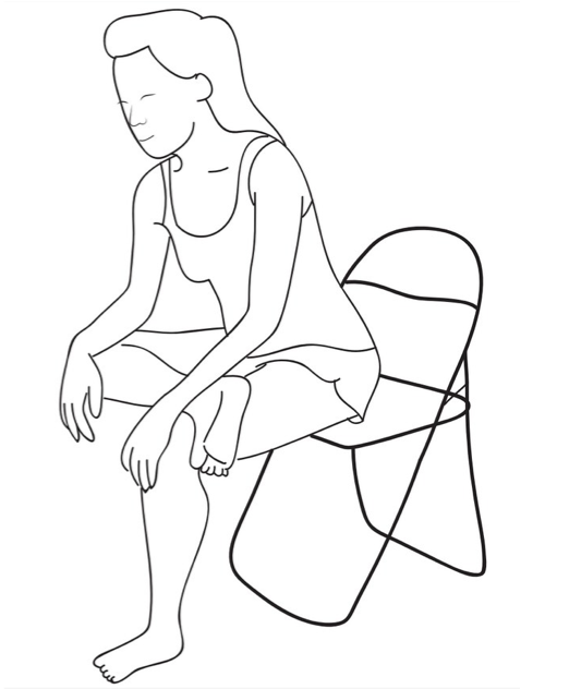 Seated Figure Four Stretch