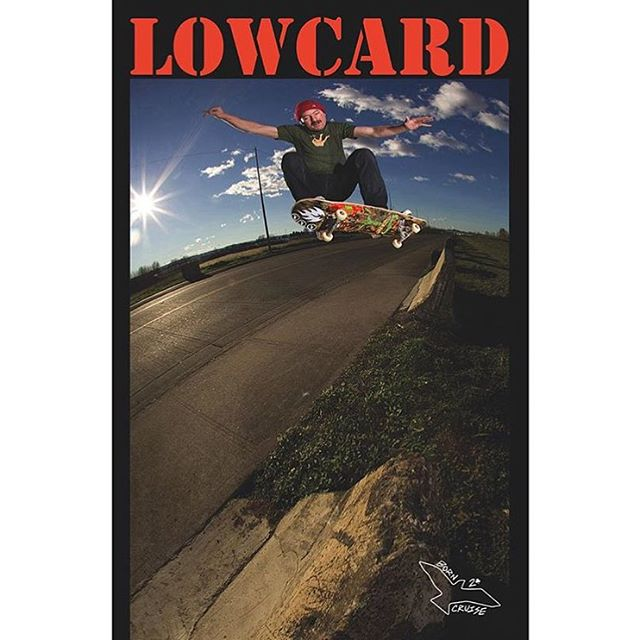 @steveforbrains on the cover of the new @lowcardmag photo @g_rayphotos