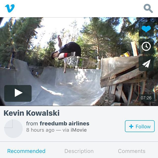 @kevin_kowalski 's part is now up on vimeo, go check it out! link on my bio page