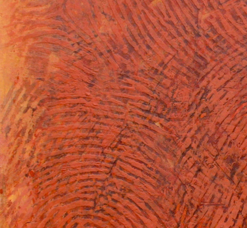 Magnified detail of Soma in Orange, 2010