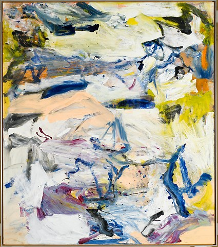 Willem de Kooning, North Atlantic Light, 1977.