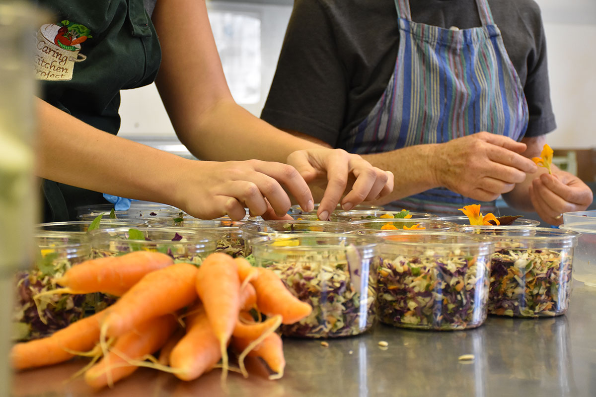 The Caring Kitchen Project Serves Cancer Patients Through Food And Volunteerism Word Of Mouth Magazine