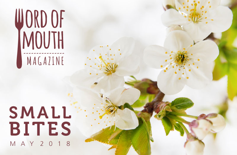 May 2018 Small Bites for Word of Mouth magazine
