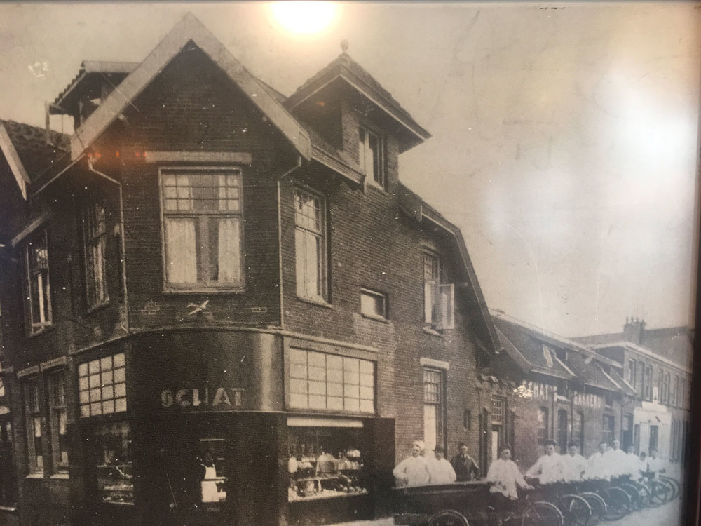 Schat's in Utrecht, The Netherlands. Jack Schat grew up above the bakery.