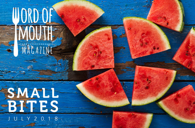 July 2019 Small Bites for Word of Mouth magazine