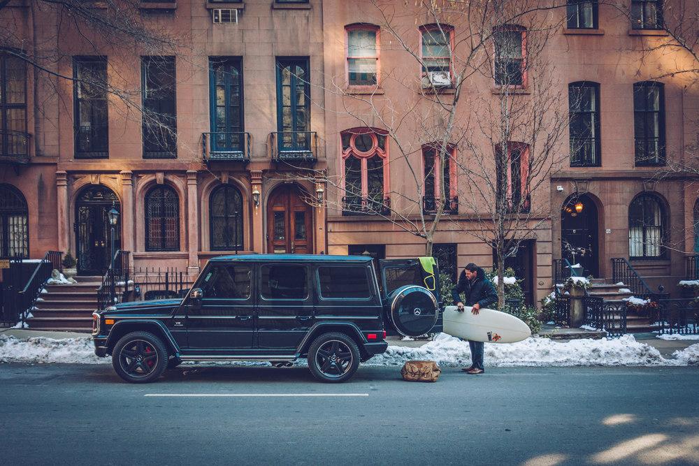 Mercedes Benz G63 Wagon Luxury Surf Lux BarreL Luxury Surf Travel