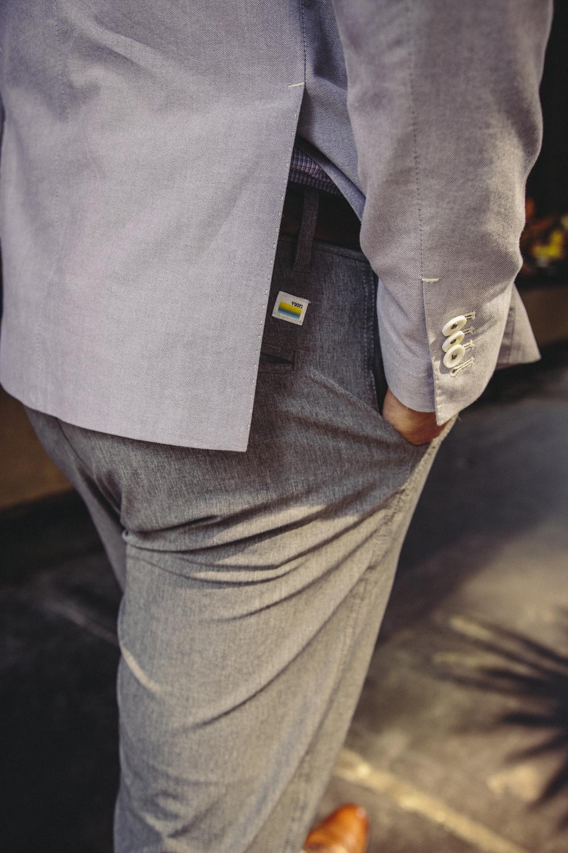 surf dress pants grey