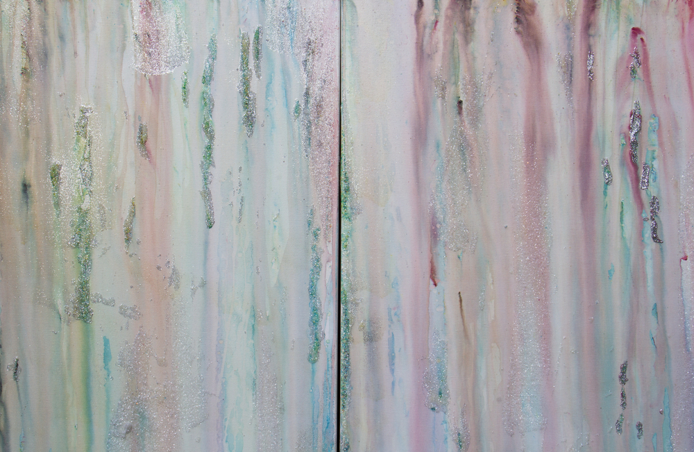Detail of Rainbow Diptych