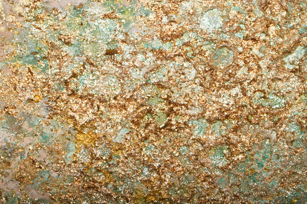 Detail of Seafoam Gold