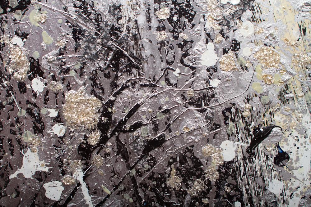 Detail of La Voie Lactée