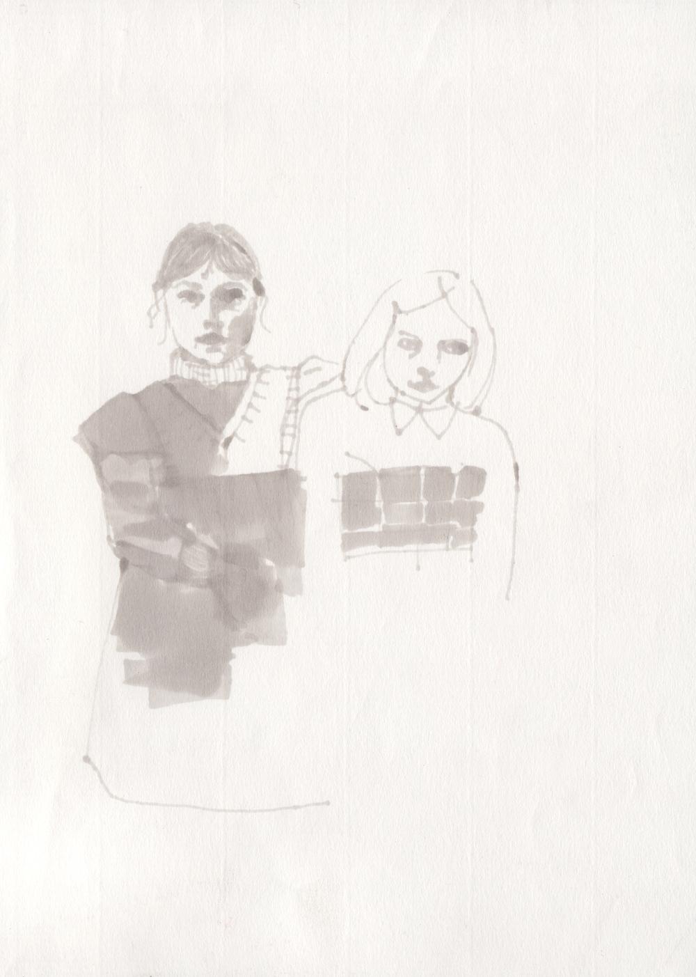 """""""Sisters"""" - C. S. Genest"""