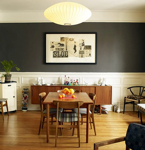 The dining room, as seen on Design*Sponge