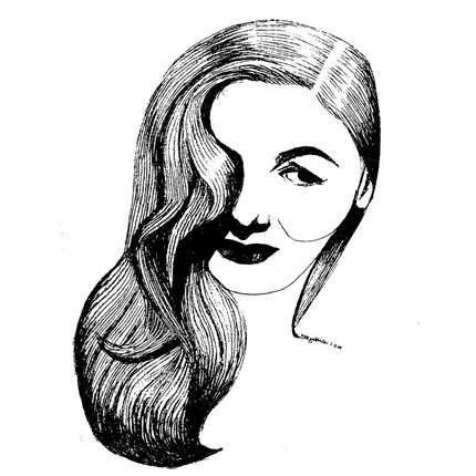 Veronica Lake from silentsandtalkies