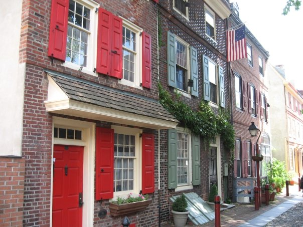 Oldest residential street in America ~ Philly