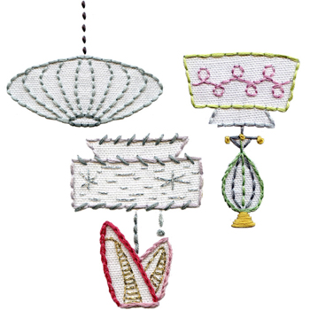 "From ""Vintage Lamps"" pattern"