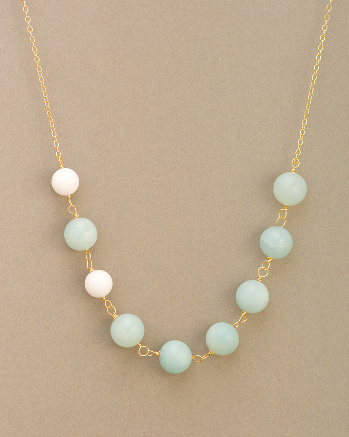 Magchunk's pick! The Astor St. Bead Strand Necklace. So pretty!