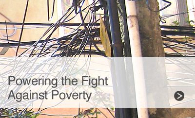 Powering the Fight Against Poverty