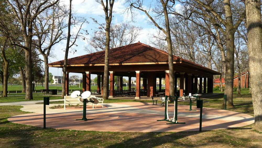 Potawotomi Park Exercise Plaza