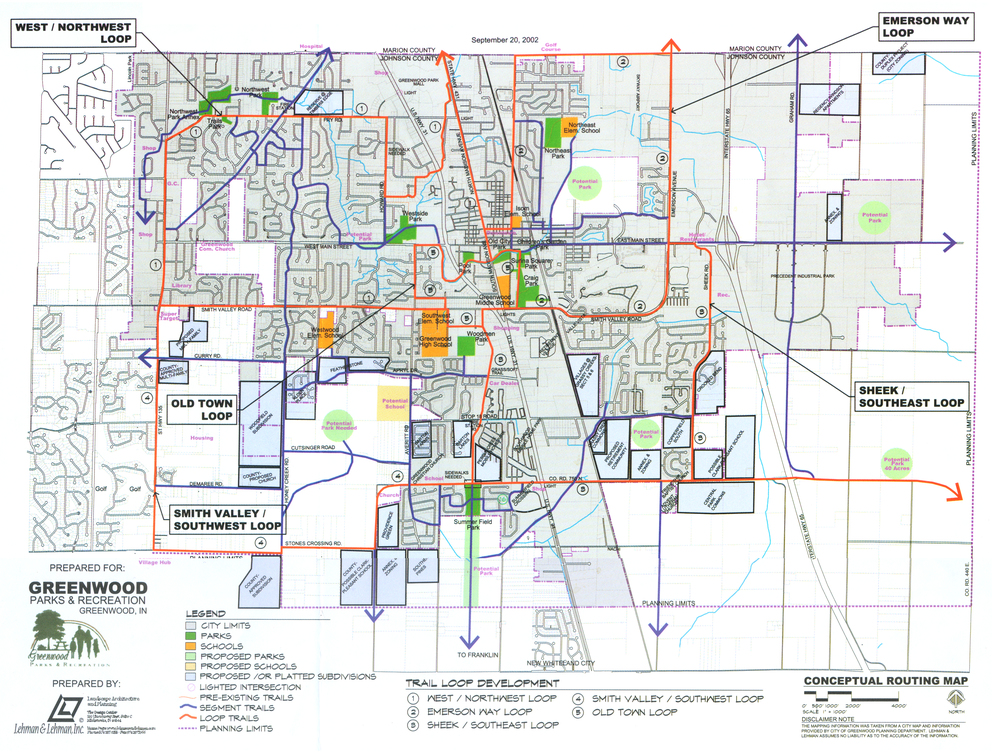 Greenwood Trails Master Plan