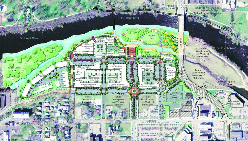 Ironworks of Mishawaka Development Plan