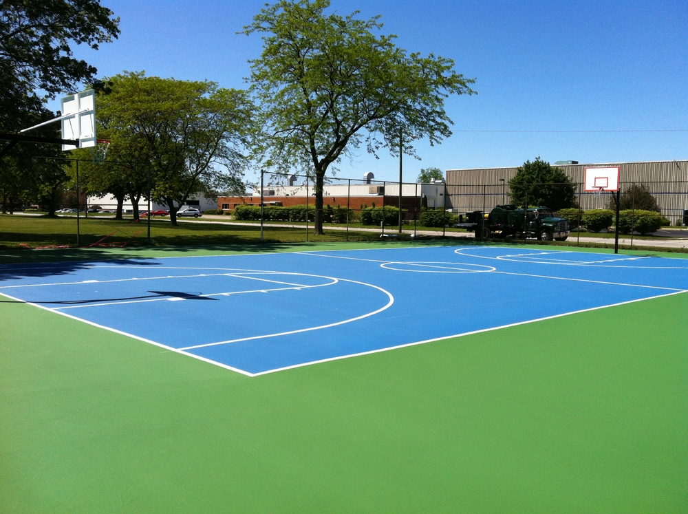 Voorde Park Basketball Court