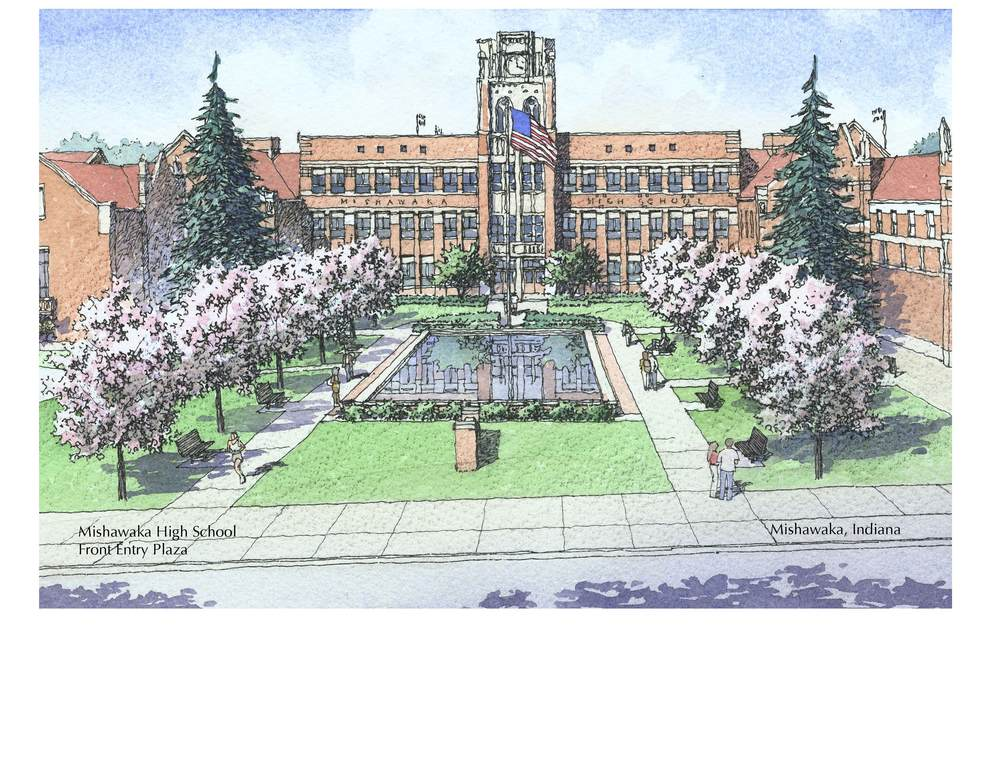 Mishawaka HS Front Plaza.jpg