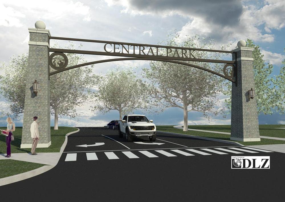 Central Park Concept Plan