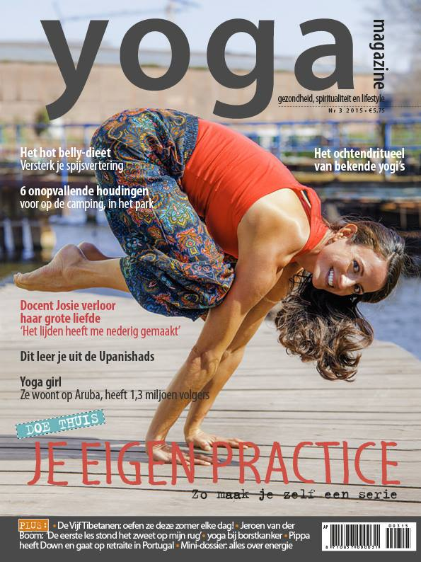 Cover of Yoga Magazine 2015