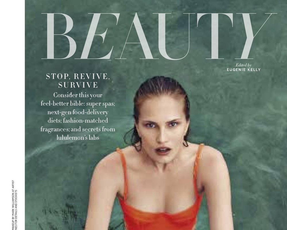 Harper's Bazar Beauty Spa Issue 2013