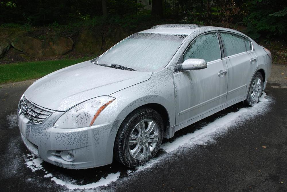 Nissan Altima Cquartz Ceramic Coating Application