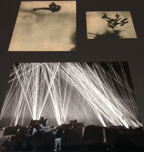 Life magazine images of WWI and WWII collected        by CLyfford Still