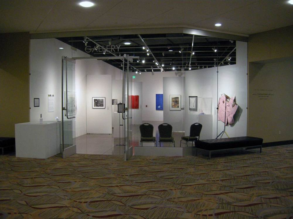 Annual Contemporary Art Survey at The Fort Collins Lincoln Center August 29th-October 10th, 2015. Photo courtesy of The Lincoln Center