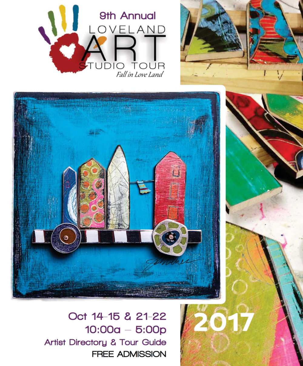 Join me in my studio at    Artworks Loveland    during the Loveland Art Studio Tour to see new large paintings in progress as well as a new series of works on paper and series of small paintings. Find out more info at    Loveland Art Studio Tour
