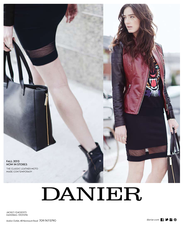 Danier Leather Magazine Ad